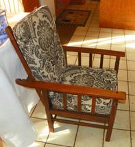 Solid Oak Mission Morris Deck Chair / Armchair - $699.00