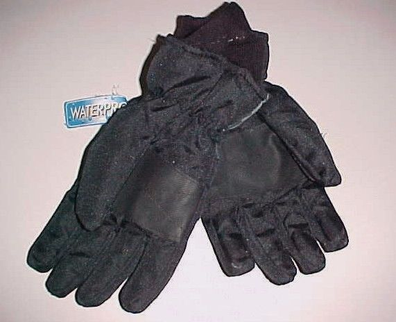 c4fc9b252 Fall Creek Black 3M Thinsulate Waterproof Ski Gloves Size 8-18 Item No. 210
