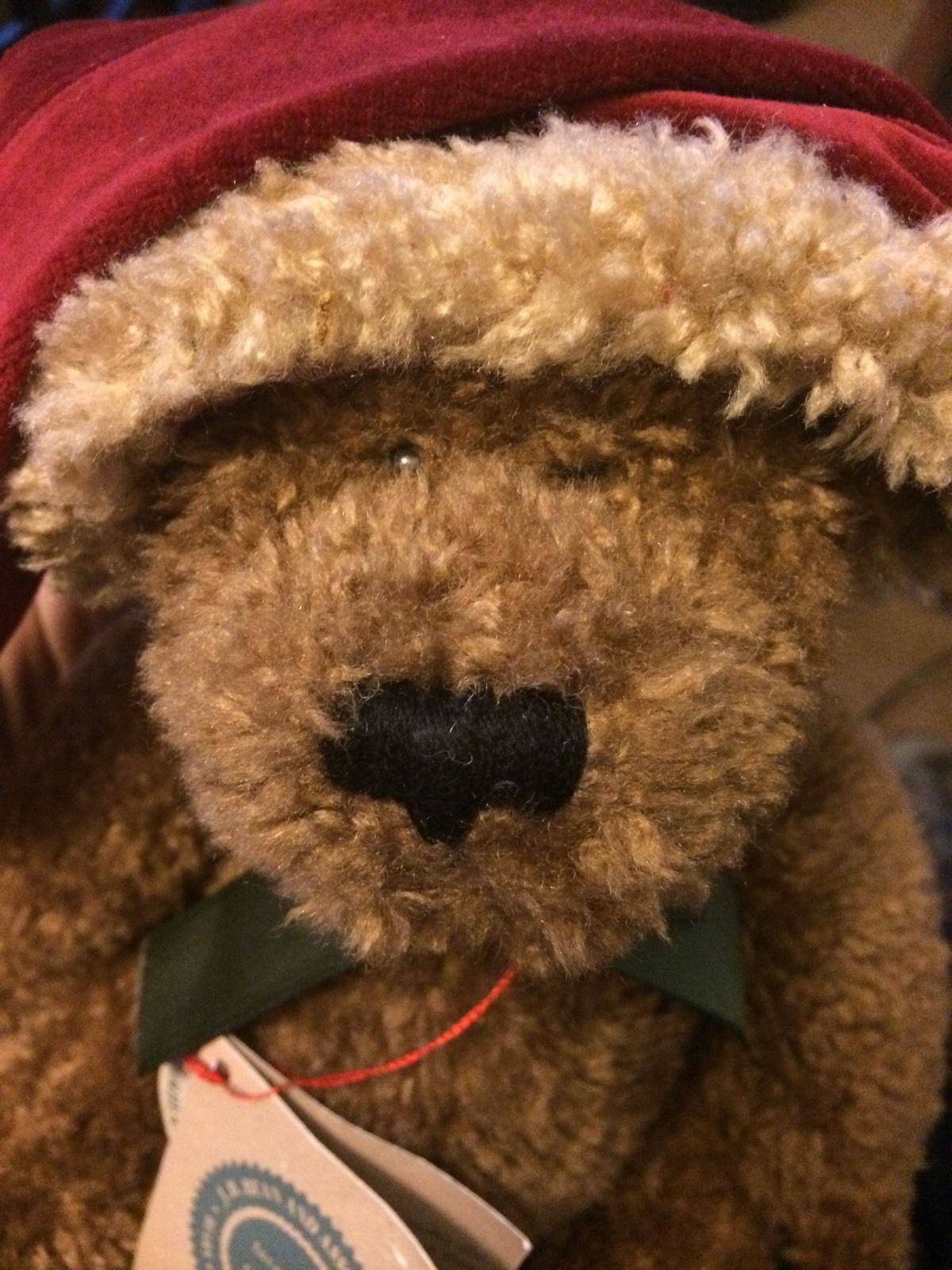 """Retired Boyds Bear Elf Elvin 10""""  with Jointed Body"""