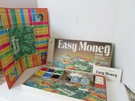 Vtg 1974 Milton Bradley Easy Money Brettspiel #4620 Komplett - $8.58