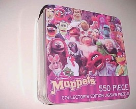 USAopoly Jim Henson Muppets 550 Piece Collector's Edition Puzzle Tin Box New - $148.49