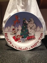 Rudolph The Island of Misfit Toys Cookies for Santa Collectible Plate New in Box image 5