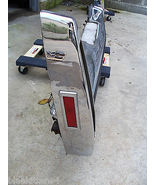 1978 1979 COUPE SEDAN DEVILLE FLEETWOOD REAR BUMPER OEM USED CADILLAC  - $721.71