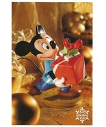 WDCC Disney Mickey Mouse Holiday Series Christmas Presents Unused 4x6 - $6.00