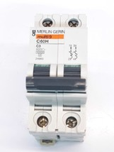 Merlin Gerin 24983 Circuit Breaker 2 Pole Model C60H - $22.04