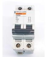 Merlin Gerin 24983 Circuit Breaker 2 Pole Model C60H - $22.04