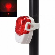 Mini 2-LED 2-Mode Red Light Bicycle Tail Lamp - €10,83 EUR
