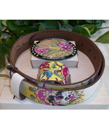 Ed Hardy Gift Set Belt Buckle Cuff Bracelet M M... - $18.00