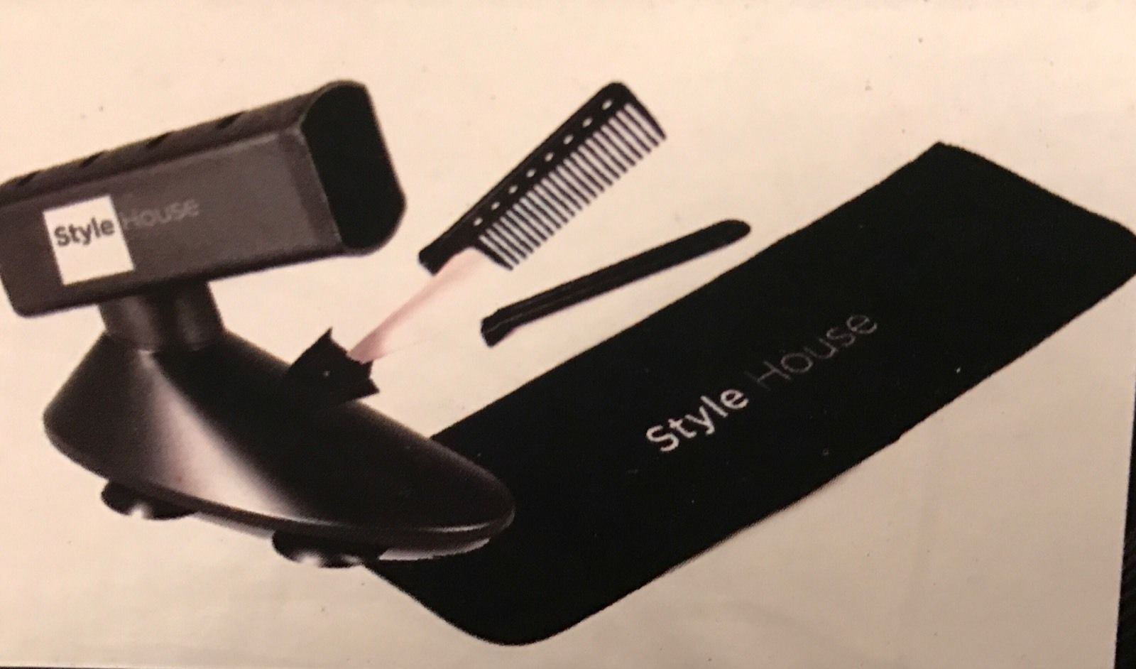 Style House Professional Styling Flat Iron And Accessory