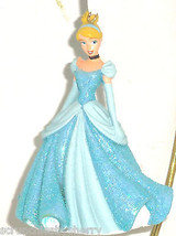 Disney Princess Cinderella Ornament Christmas Holiday Figural Blue Gown New - $34.95