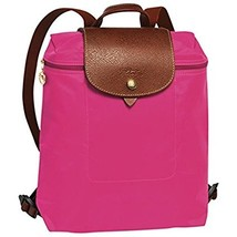 France Made Longchamp Le Pliage Nylon Backpack Hot Pink 1699089455 - $75.00