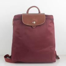 France Made Longchamp Le Pliage Nylon Backpack Wine 1699089009 - $78.00