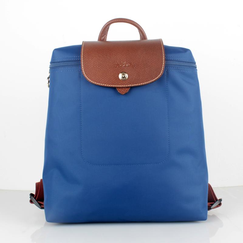 Longchamp Le Pliage Nylon Backpack Indigo and 17 similar items 0e3ff3e246a70