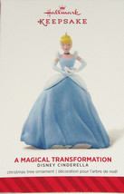Disney Cinderella Princess Hallmark Ornament 2014 A Magical Transformati... - $29.95