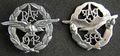 Primary image for American Eagle Squadron 1942 Badge Sterling