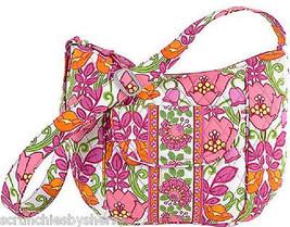 Vera Bradley Lilli Bell Clara Handbag Purse Green Pink Orange New - $109.95