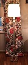Antique Wood Floor Lamp - $65.10