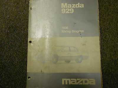 Electric Wiring Diagram Book : 1990 mazda 929 electrical wiring diagram and 50 similar items