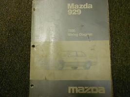 1990 Mazda 929 Electrical Wiring Diagram Service Repair Shop Manual OEM BOOK 90 - $8.17