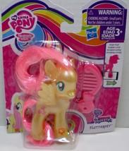 My Little Pony Pearlized Fluttershy w/ silver glitter Explore Equestria - $11.95