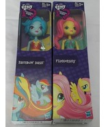 *LOT OF 2* My Little Pony Equestria Girls Fluttershy Rainbow Dash - $19.78