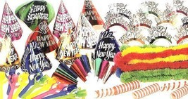 Creative Converting New Years Eve Multicolor Party Kit for 20 - $29.69