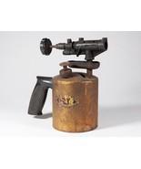 Vintage Blow Torch - Dunlap Metal Blowtorch - Free Shipping - $25.71