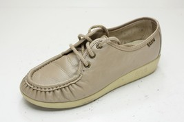 SAS 6 Wide Taupe Lace Up Shoes Women's - $56.00
