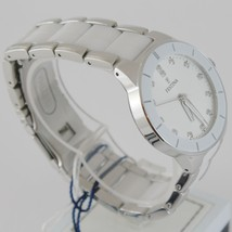 FESTINA WATCH QUARTZ MOVEMENT 35 MM CASE 5 ATM WHITE FACE WHITE CERAMIC ZIRCONIA image 2