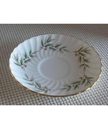 "VALENCIA John Aynsley 5.5"" REPLACEMENT SAUCER Bone China England #8364 - $3.87"
