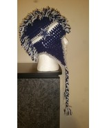 Dallas Cowboys Inspired Handmade Crochet Mohawk... - $35.00