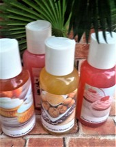 shower gels, set of 4, bath and body, bath gel, bath, beauty, normas bat... - $20.00