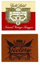 7 Different Unused Original Cigar Box Labels an... - $17.82