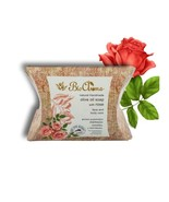 Handmade Olive oil soap for face and body - Roses 90gr. - $10.74