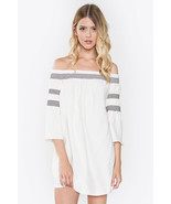 Women's ALWAYS YOURS OFF THE SHOULDER DRESS - 6... - $46.99