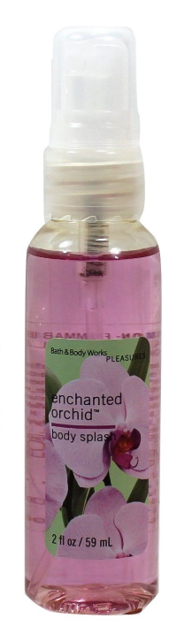 Bath & Body Works Enchanted Orchid 2pc Travel Set Body Splash and Body Lotion 2z