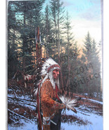 "John Paul Strain ""Thoughts of the Great Spirit"" SN 8/50 COA - $1,200.00"
