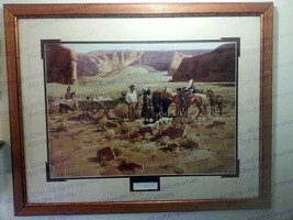 "Gary Niblett ""Navajo Sheep Buyers"" SN 904/950 - $375.00"