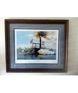 William McGrath <em>C.S.S. Savannah exchanging fire with Union fie... - $300.00