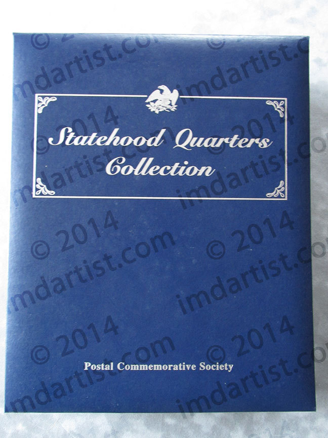 Postal Commemorative Society Statehood Quarters Collection (incomplete)