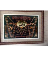 "Winchester ""Double-W"" Cartridge Board Framed nu... - $225.00"