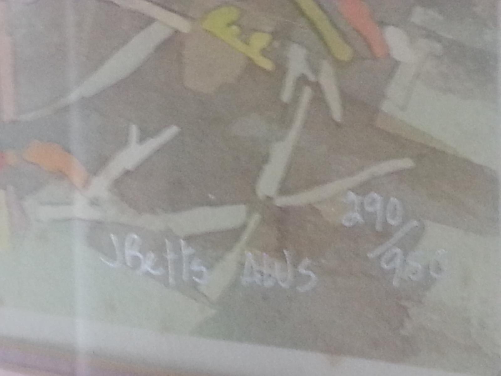 Judi Betts AWS <em>Patio Party</em> SN 290/950