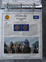 Postal Commemorative Society Statehood Quarters Collection Kentucky page - $10.00