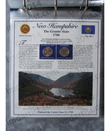 Postal Commemorative Society Statehood Quarters Collection New Hampshire... - $10.00