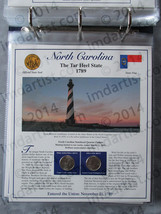 Postal Commemorative Society Statehood Quarters Collection North Carolin... - $10.00