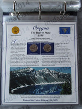 Postal Commemorative Society Statehood Quarters Collection Oregon page - $10.00