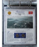 Postal Commemorative Society Statehood Quarters Collection Tennessee page - $10.00