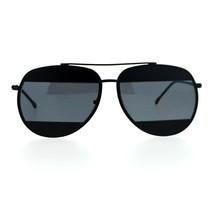 Unique Unisex Aviator Sunglasses Oversized Metal Block Frame Aviators - $9.85