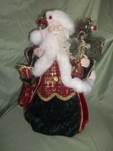 Santa Claus soft sculpture - $50.00
