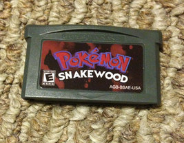 Pokemon Snakewood Fan Made Custom Game Boy Advance Game. GameBoy GBA Saves! - $11.99